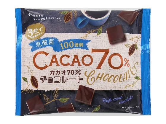 乳酸菌100億個 カカオ70%チョコレート